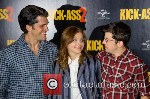 Jeff Wadlow, Chloe Grace Moretz and Christopher Mintz Plasse 5