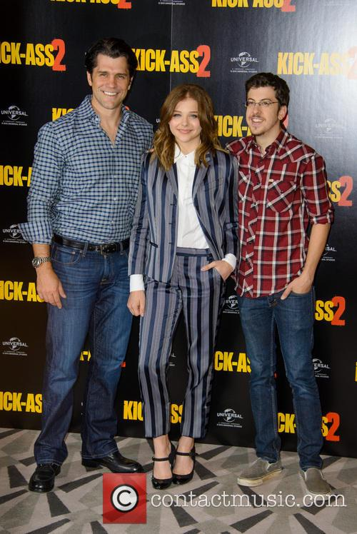 Jeff Wadlow, Chloe Grace Moretz and Christopher Mintz Plasse 6