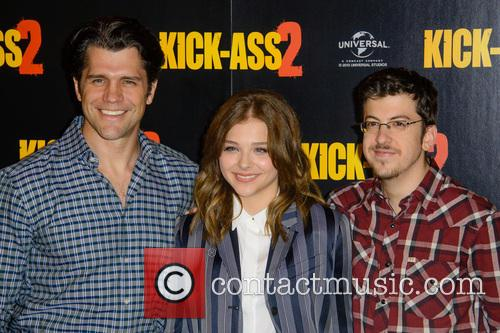 Jeff Wadlow, Chloe Grace Moretz and Christopher Mintz Plasse 7