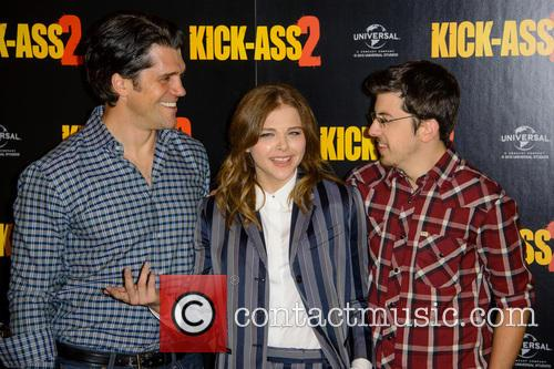 Jeff Wadlow, Chloe Grace Moretz and Christopher Mintz Plasse 8