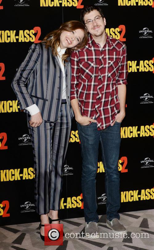 Chloe Grace Moretz and Christopher Mintz- Plasse 6