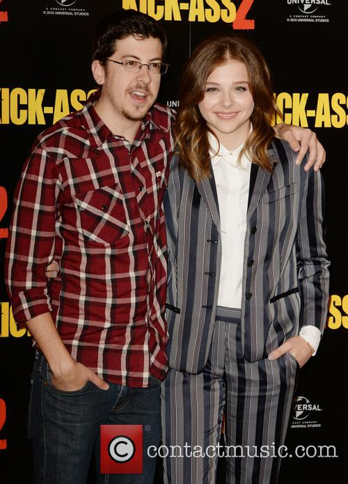 Chloe Grace Moretz and Christopher Mintz- Plasse 9