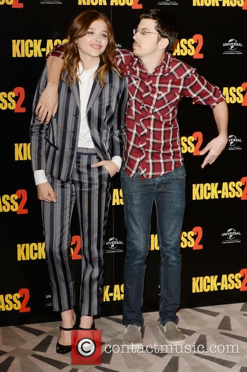 Chloe Grace Moretz and Christopher Mintz- Plasse 1