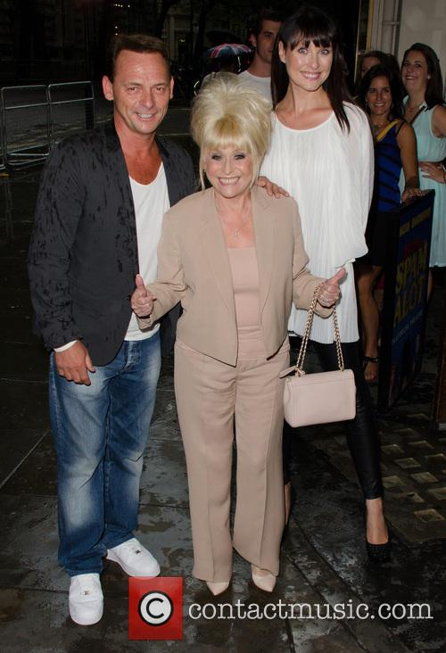 Perry Fenwick, Barbara Windsor and Emma Barton 2