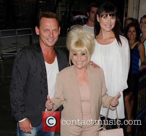 Perry Fenwick, Barbara Windsor and Emma Barton 1