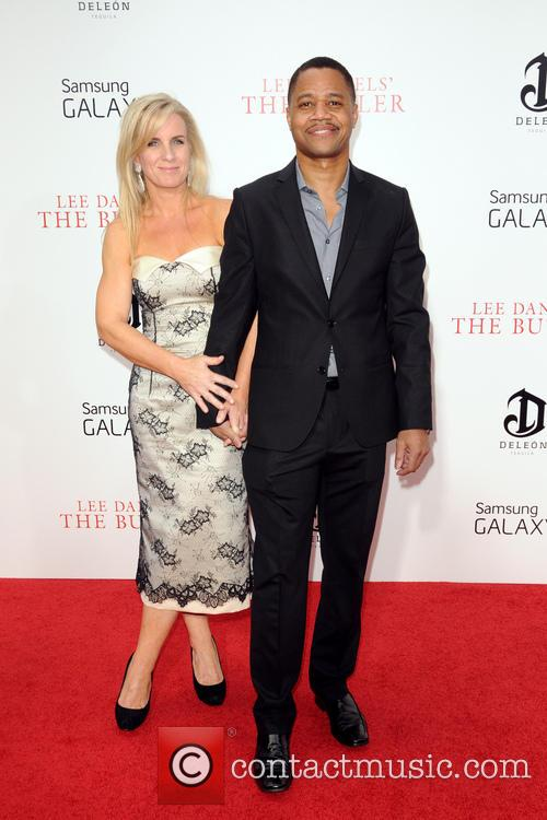 Cuba Gooding Jr and Sara Kapfer 3