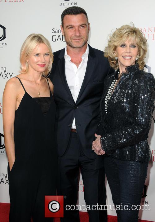 Liev Schreiber, Naomi Watts and Jane Fonda 1