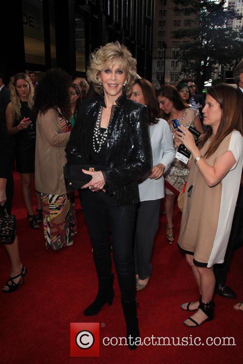 Jane Fonda, The Ziegfel Theater 141 West 54th Street
