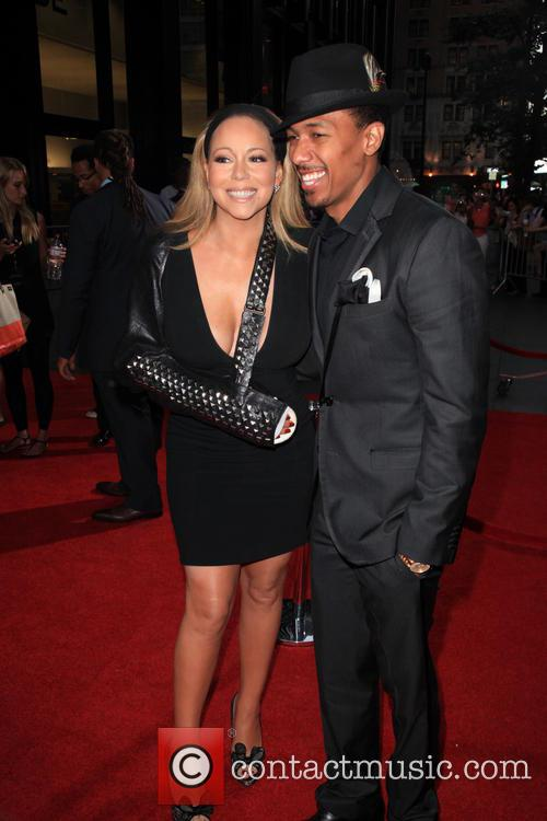 mariah carey nick cannon new york premiere  3800386