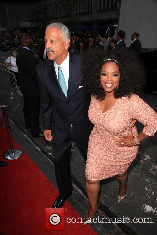 Stedman Graham and Oprah Winfrey