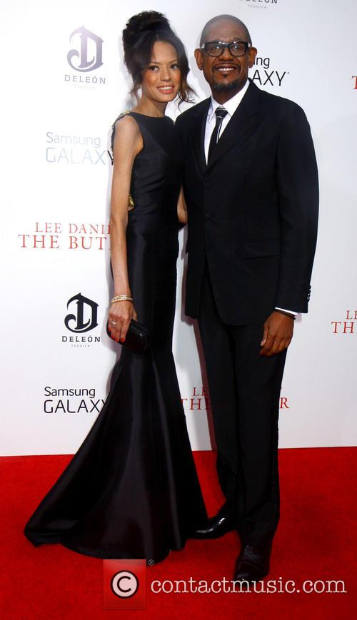 Forest Whitaker and Keisha Nash Whitaker 10