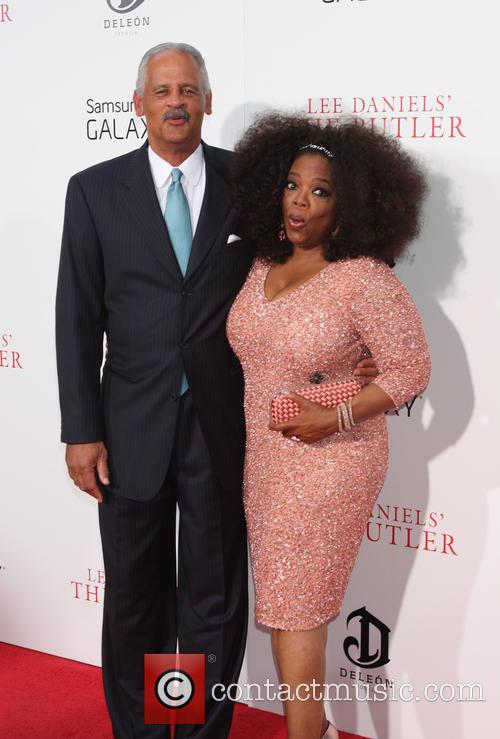 Oprah Winfrey and Steadman Graham 8