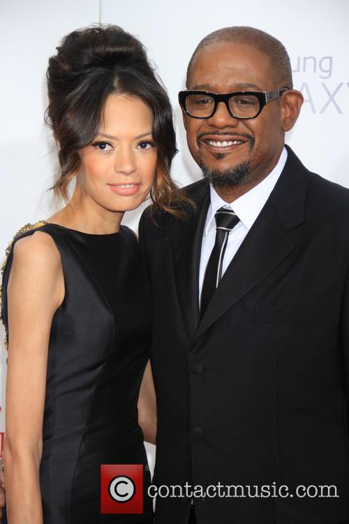 Forrest Whitaker and And Wife Keisha 1