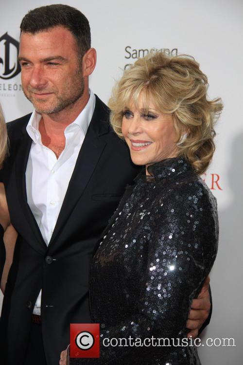 Liev Schreiber and Jane Fonda 4