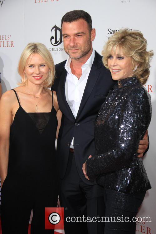 Namoi Watts, Liev Schreiber and Jane Fonda 2