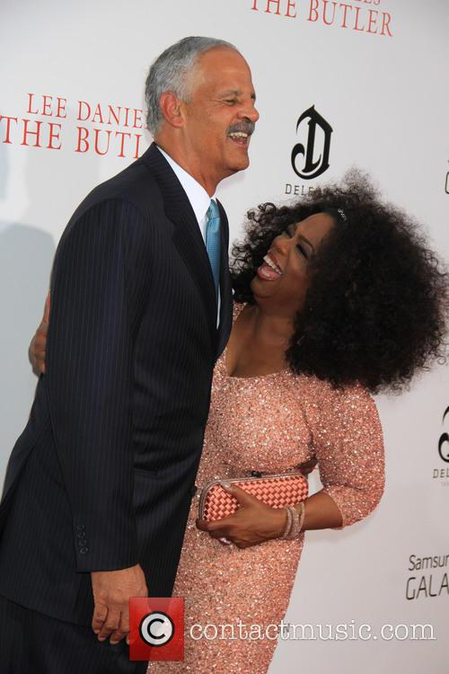 Stedman Graham and Oprah Winfrey 6