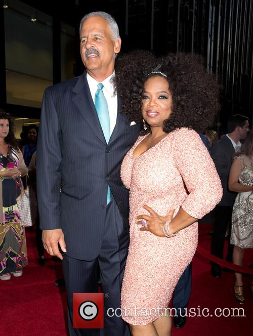 Stedman Graham and Oprah Winfrey 8