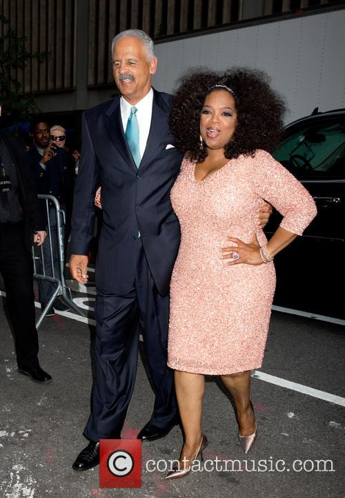Stedman Graham and Oprah Winfrey 9