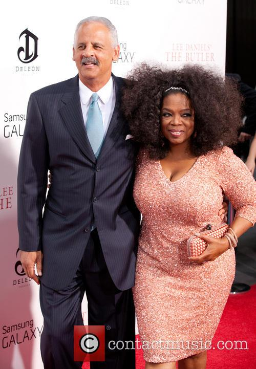 Stedman Graham and Oprah Winfrey 16