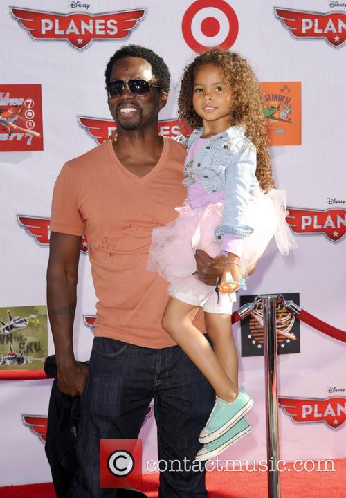 Harold Perrineau Jr. and Wynter Aria Perrineau 1