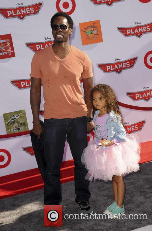 Harold Perrineau Jr. and Wynter Aria Perrineau 2