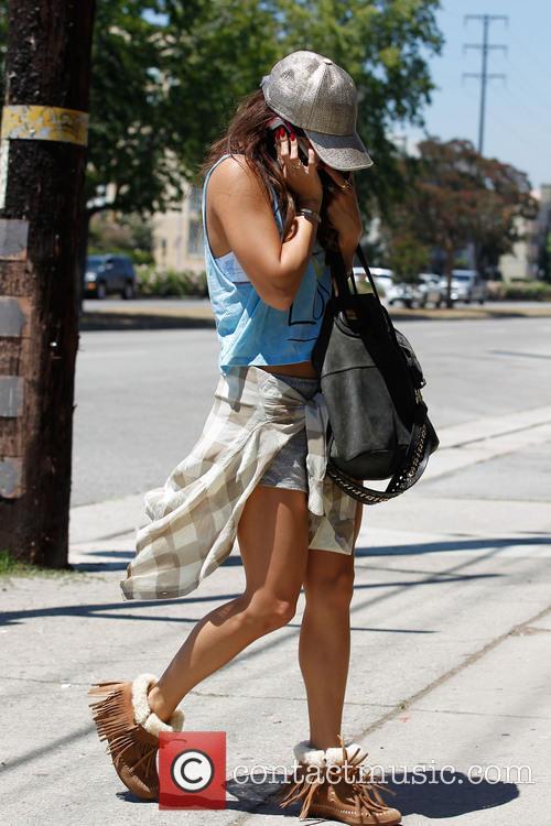 Vanessa Hudgens In Studio City