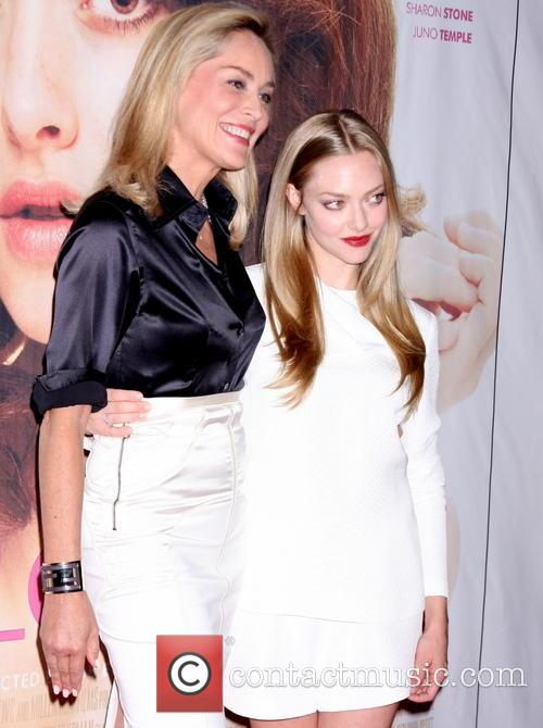 Sharon Stone and Amanda Seyfried 2