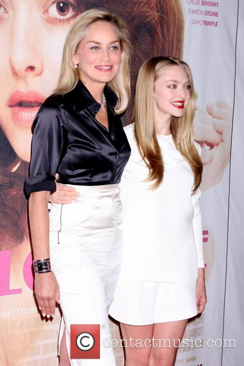 Sharon Stone and Amanda Seyfried 3
