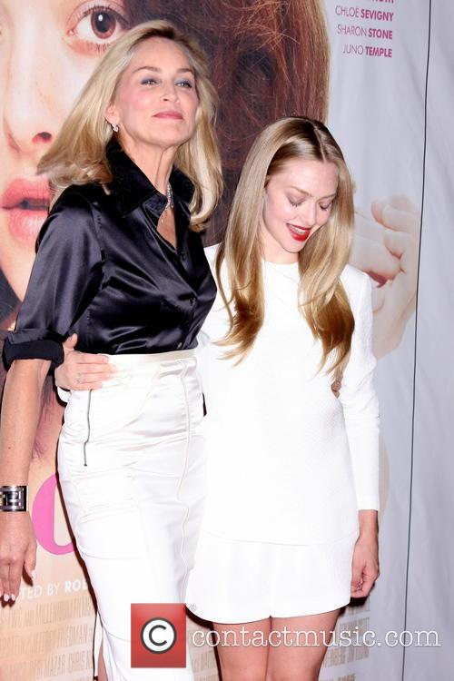 Sharon Stone and Amanda Seyfried 5