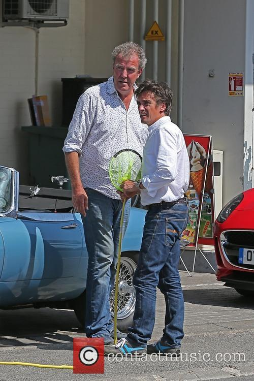 EXCLUSIVE Jeremy Clarkson and Richard Hammond in South...