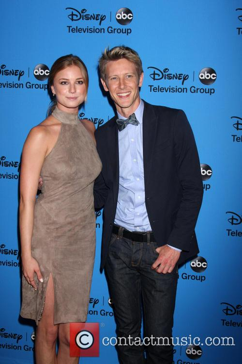 Emily Van Camp and Gabriel Mann 2