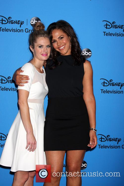 Maggie Lawson and Lenora Crichlow 4