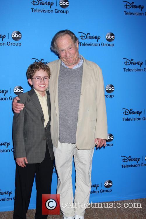 Sean Giambrone and George Segal 2
