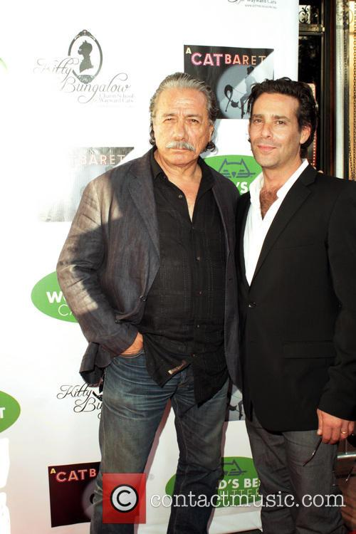 Edward James Olmos and James Callis 6