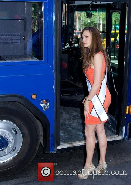 "Miss USA 2013 Erin Brady Inducted Into ""imminent"" Ride of Fame"