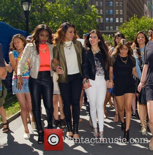 Fifth Harmony Stopping by Madison Square Park