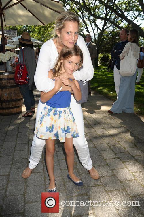Ali Wentworth and Daugher Harper Stephanopolous 4