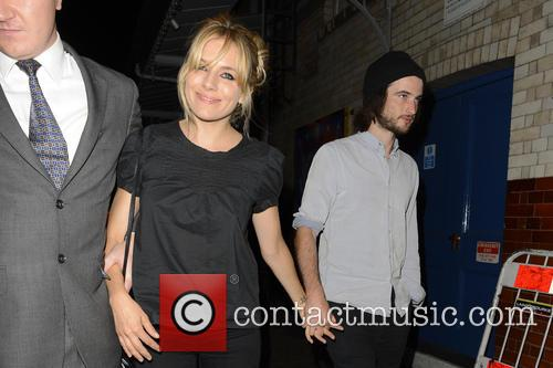 Sienna Miller and Tom Sturridge 7