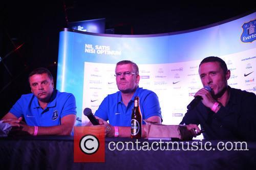 Graeme Sharp, Darren Griffiths and Robert Elstone 2