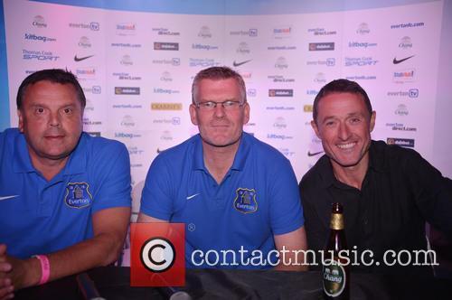 Graeme Sharp, Darren Griffiths and Robert Elstone 1