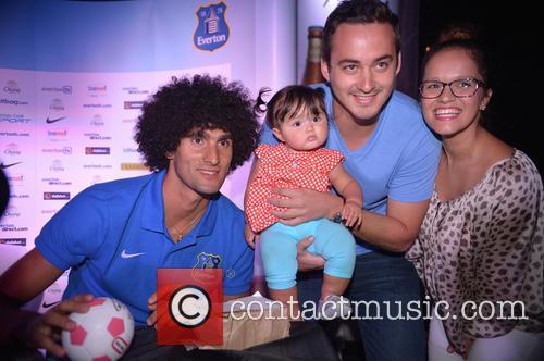 Everton Football Club meet and greet in Miami