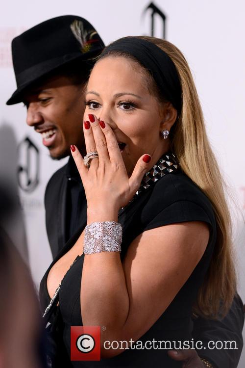 Mariah Carey at 'The Butler' premiere