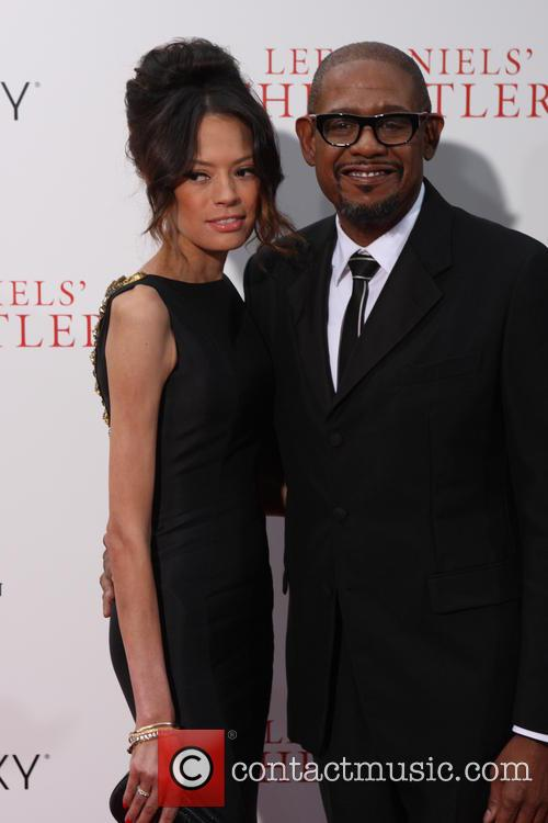Forest Whitaker and Wife 3