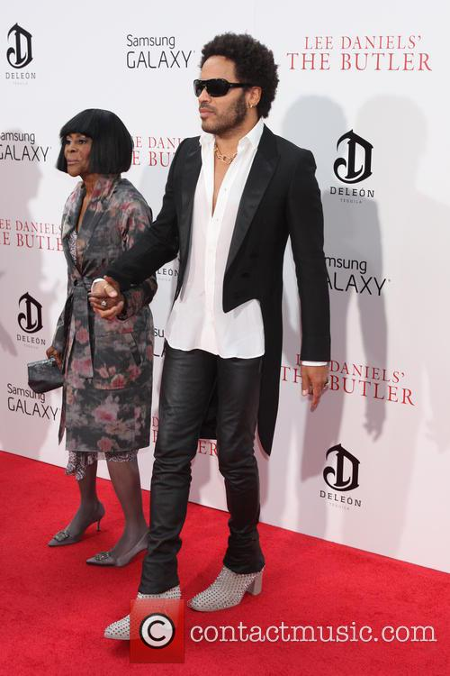 Lenny Kravitz and Cicley Tyson 1
