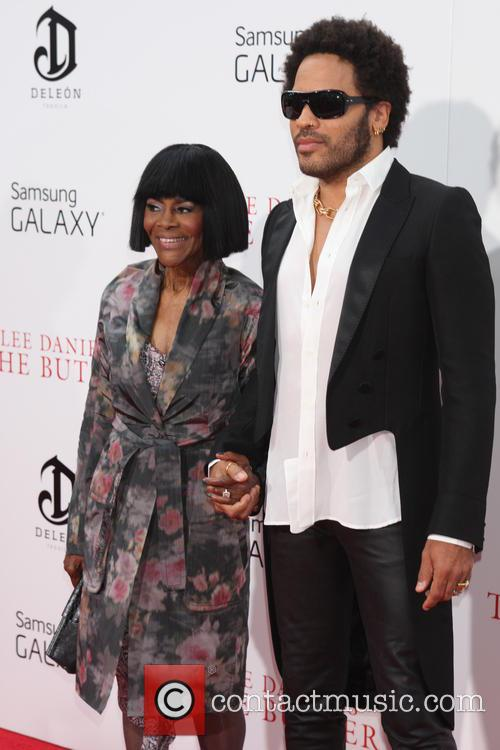 Lenny Kravitz and Cicley Tyson 2