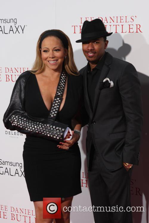 Nick Cannon and Mariah 3
