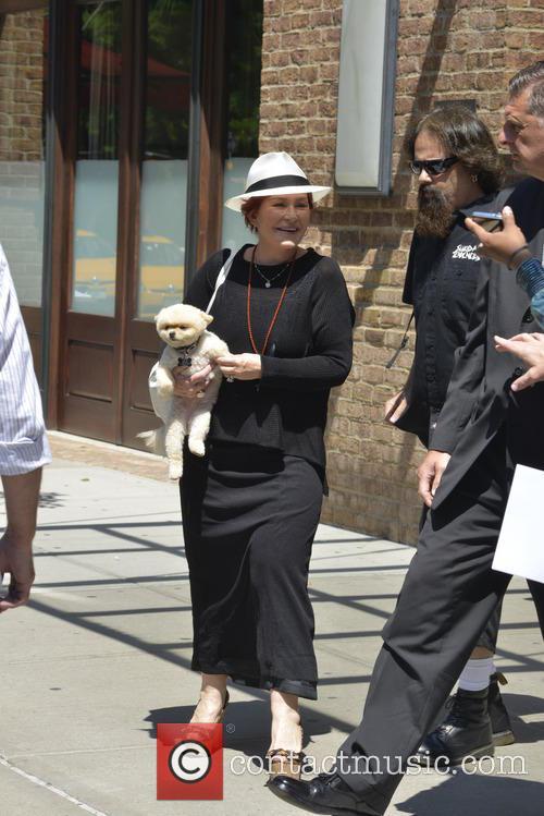 Sharon Osbourne and Mr. Chips 6