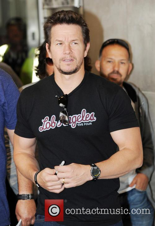 Mark Wahlberg at BBC Radio 1 studios