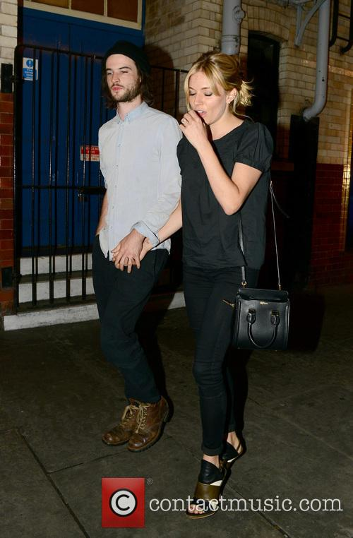 Sienna Miller and Tom Sturridge 4