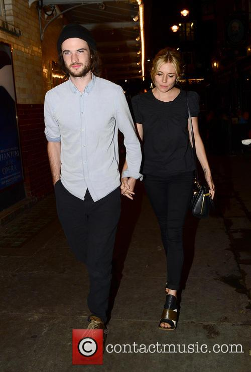 Sienna Miller and Tom Sturridge 6